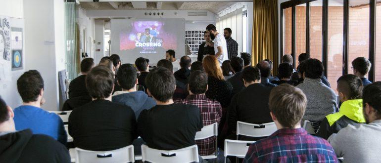 Talleres con profesionales del sector de los videojuegos organizado por Aula Arcade en el Espacio Res