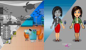 Iniciación al dibujo y arte para videojuegos