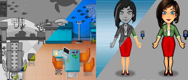 animación y arte 2D y 3D