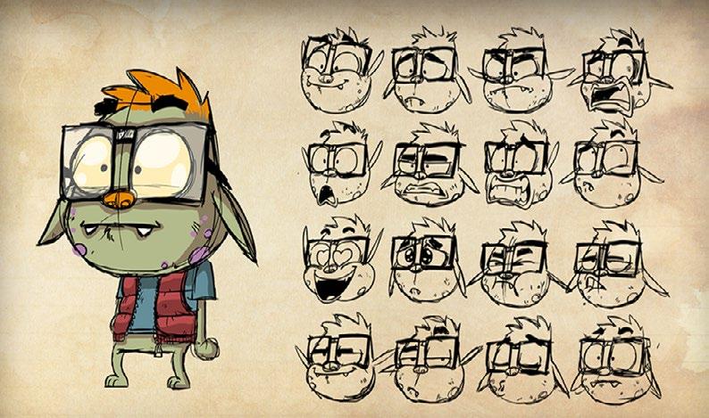 Portada curso Arte 2D y animación para videojuegos